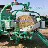 Balle rotonde dell'erba che imballano la pellicola dell'involucro del silaggio di uso