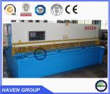 Máquina de estaca hidráulica do metal de folha do CNC da guilhotina