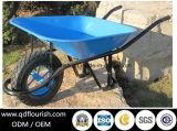 Carrinho de mão de roda de borracha Wb6400h do Wheelbarrow do trole do carro da ferramenta de jardim