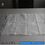 saco branco do engranzamento do PE de 15kg 20kg para o alho