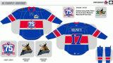 Qualquer nome personalizado e Homens Mulheres Crianças Liga de Hóquei Americana Manitoba Moose 2007-2016 Hóquei no Gelo Jersey