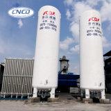 Tanque criogênico vertical do nitrogênio líquido de aço inoxidável