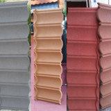 Le nouveau matériau Shigles Stone tuile de toit recouvert de tuiles de toit solaire
