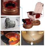 Chaise de massage de STATION THERMALE de pied de Pedicure de meubles de salon de beauté