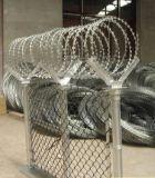 安い電流を通された有刺鉄線または強盗の網