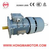 Moteur électrique triphasé en aluminium d'Indunction de frein magnétique de Hmej (C.A.) électro