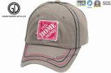 Casquette de baseball personnalisé de gros Sports chapeau avec tissus de l'étiquette de patch