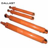Front-End pendientes el manguito cilindro hidráulico para maquinaria de construcción de calentadores de asfalto