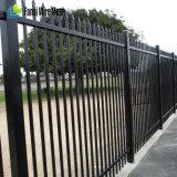흑색 화약 미국을%s 입히는 장식적인 철 말뚝 울타리
