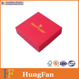 حارّة يختم علامة تجاريّة أحمر مجموعة ورقة هبة يعبر صندوق
