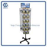 Seiten-Umdrehungs-Nahrungsmittelimbiss-Klipp-Bildschirmanzeige-Zahnstange des Metall6