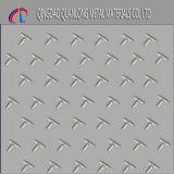 316 tamanho Checkered da placa do aço inoxidável de 316L 316ti