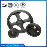 El SGS certificó la rueda volante del hierro gris/de la arena para la bici de ejercicio eléctrica