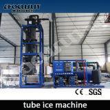 Máquina de gelo de tubo de pequena capacidade 2t / 24h