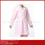 2018 Pink Lab Coat Uniform病院(H69)のための新しいデザイン看護婦の博士