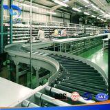 La fabbricazione della Cina ha annunciato la strumentazione dei nastri trasportatori del piano dell'acciaio inossidabile