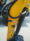 China-Minigummispur-Gleisketten-Exkavator mit Bulldozer-Schaufel