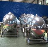 Промышленный суп пара нержавеющей стали варя Jacketed чайник с агитатором (ACE-JCG-063174)