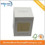 カスタム円形のガラス蝋燭の瓶の包装ボックス(QYZ148)