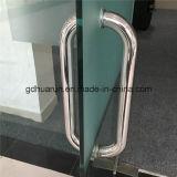 Manija de puerta de cristal Fabricante y hacia fuera manija de puerta (HR113)