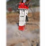 Hydraulisches Unterbrecher-Straßenbau-Gerät brachte hydraulischen Unterbrecher zum Schweigen