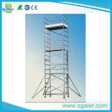 De Gebruikte Steiger van het aluminium Materiaal voor Verkoop met het Platform van het Werk van het Triplex