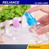 Kosmetische Behälter-Spray-Flaschen-füllende und mit einer Kappe bedeckende Maschine