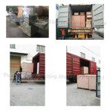 L'écoulement horizontal Vanne à boisseau sphérique à trois voies Machine d'emballage d'enrubannage