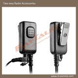 Trasduttore auricolare del tubo/microfono acustici Headst della gola per la radio bidirezionale