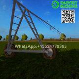 Tipos tres equipo de China de sistema de irrigación del pivote del centro de la granja de las ruedas