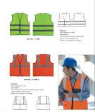 Veste reflexiva customizável da segurança do En 20471 e do ANSI/Isea 107