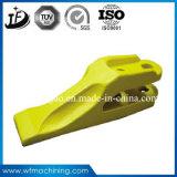 Personalizado em volta dos dentes quentes de aço da cubeta do forjamento para o trator
