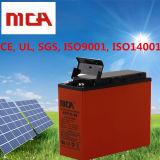 Batterie de 5 d'an batteries solaires AGM de la garantie 12V solaire