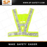 Alta visibilidade em malha colete de segurança refletivo colete reflector de alta visibilidade de Vd19-001