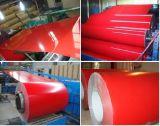 Rouleaux couché couleur de la bobine d'acier galvanisé prélaqué