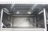 Nosotros servidor del montaje de estante de la serie 19inch 42u con la puerta principal del plexiglás