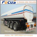 42000~45000liters 석유 탱크 트레일러, 판매를 위한 큰 수용량 연료 유조선 트레일러