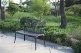 新製品の中国の製造者の庭は金属の旧式な屋外の鋳造アルミのベンチの椅子をメンバーからはずす