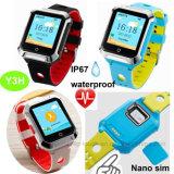 IP67 imprägniern intelligente GPS-erwachsene Uhr mit Puls Y3h