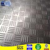 Prezzo checkered della Cina del piatto dell'acciaio inossidabile