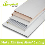 2016 venta caliente de aluminio lineales Azulejos de techo suspendido