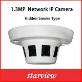 cámara ocultada CCTV del IP del Web de la red del humo de la seguridad 1.3MP (SVN-C1130)