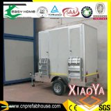 Portable and Movable Beautiful Trailer Toilet