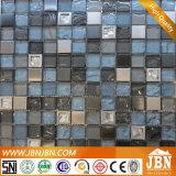 Montra de aço inoxidável de parede e mosaicos de vidro convexo (M823060)