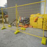 Frontière de sécurité mobile galvanisée d'IMMERSION chaude de qualité (galvanisée après soudure)