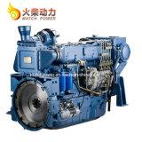 Venta caliente Weichai 190CV diesel marinos Motor 1500rpm de motor Barco de WD10/ Wd615