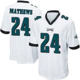 Abitudine nera bianca del pullover di football americano di verde del gioco dell'elite di Filadelfia Ryan Mathews Malcolm Jenkins Eric Rowe dei bambini dei capretti delle donne del Mens qualsiasi nome qualsiasi numeri