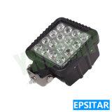 lumière automatique extérieure de travail de la lampe DEL de 4.3inch 48W Epistar DEL