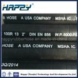 R13 Superdraht-gewundener hydraulischer Gummischlauch des hochdruck-sechs