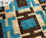 Pano de alta qualidade do sofá do jacquard do teste padrão 2016 retangular (FTH31614)